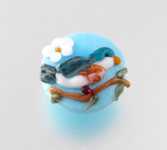 Bluebird bead